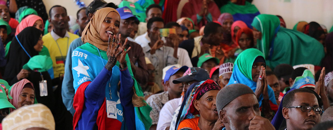 Ogaden National Liberation Front conference where the ONLF announces transition to a political party