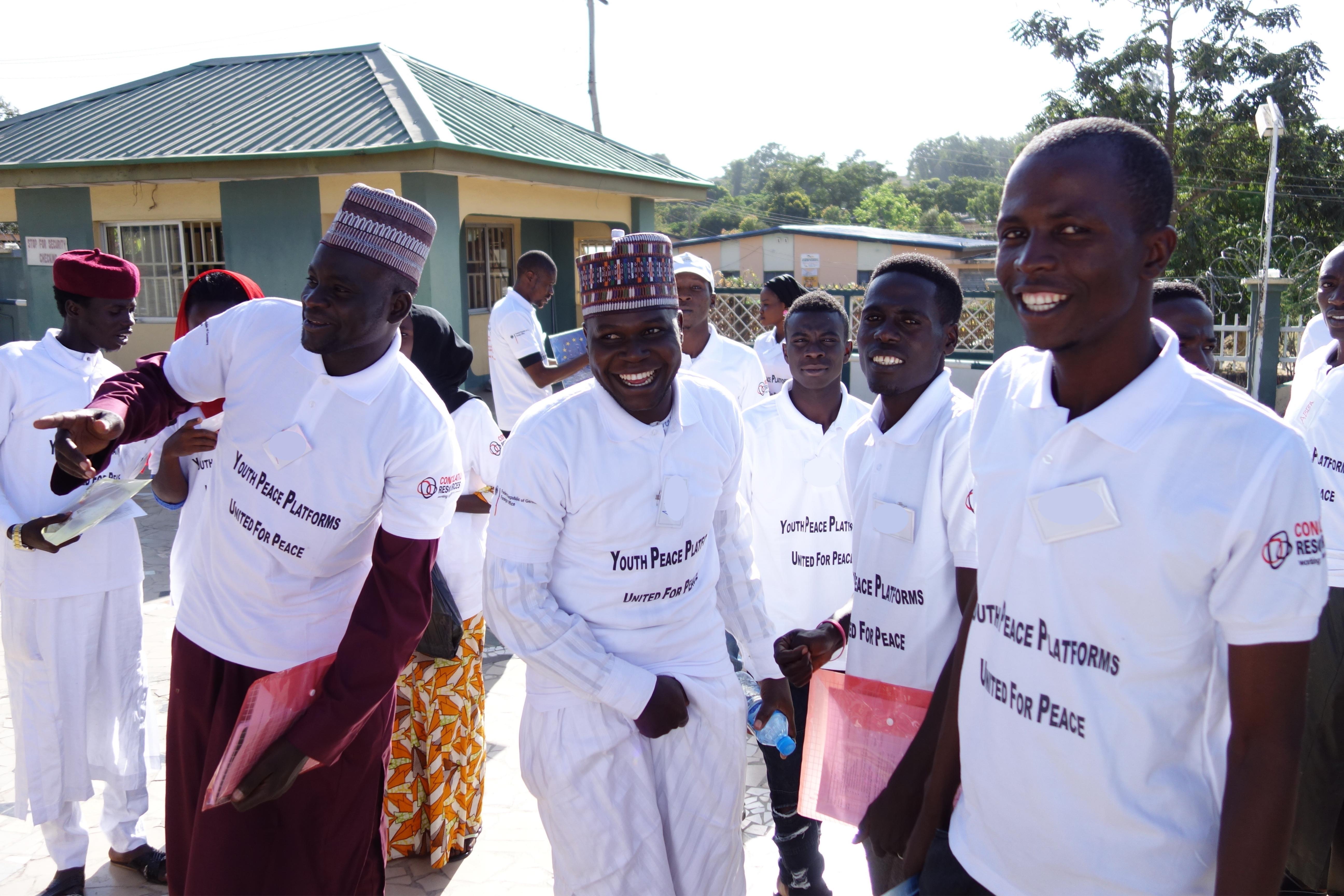 Young men in northeast Nigeria