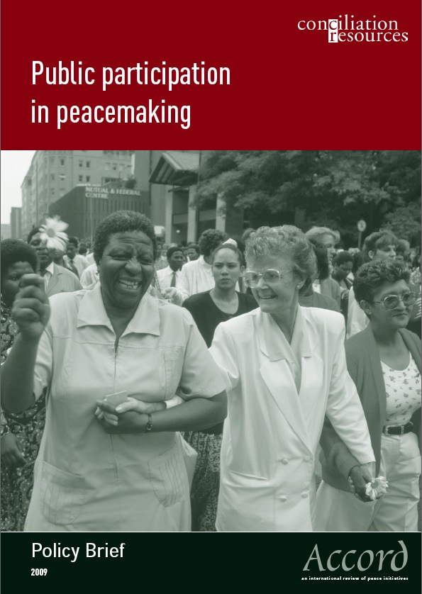 Accord policy brief: Public participation cover image