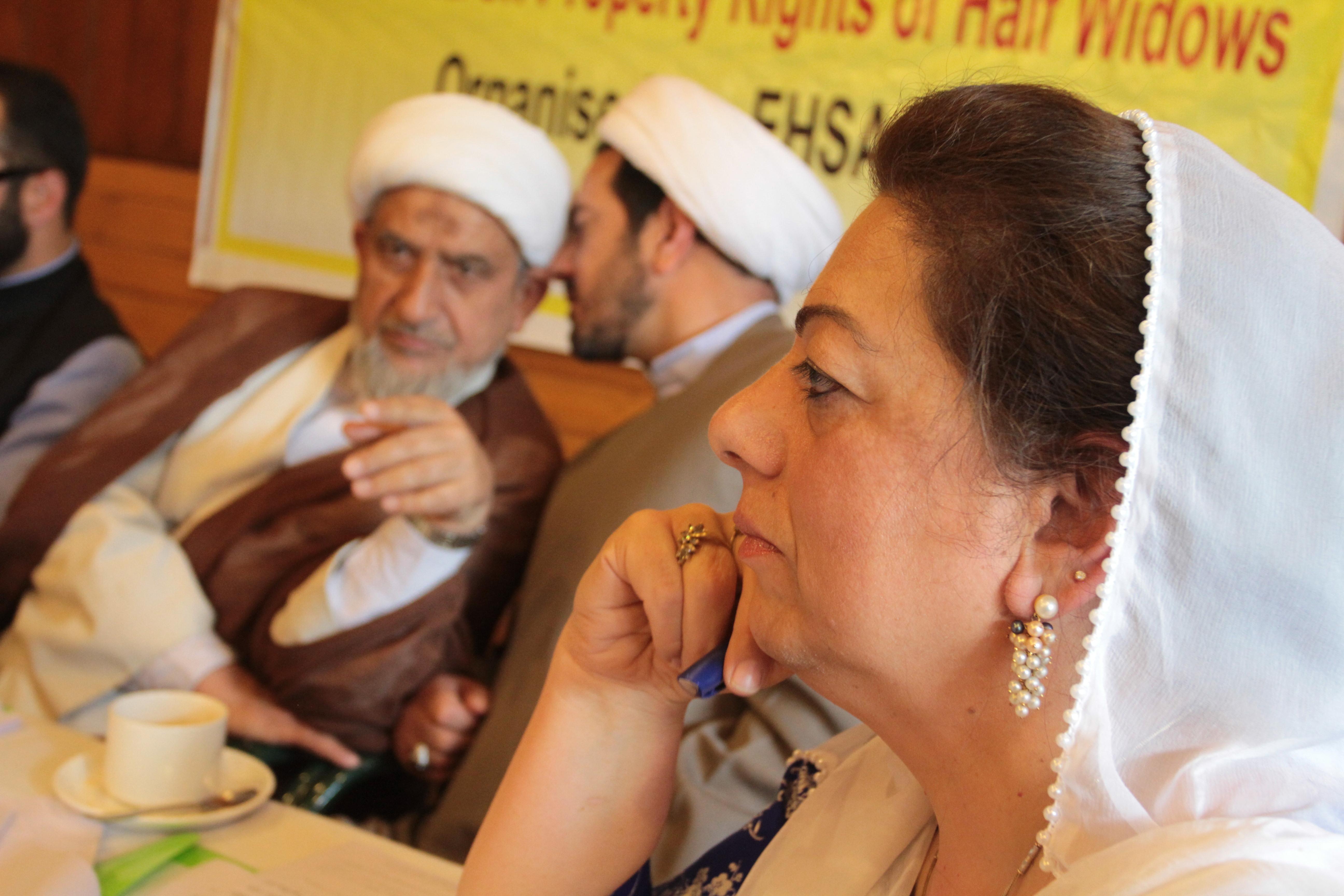 Ezabir and Ulema consultative meeting. Jaummu and Kashmir