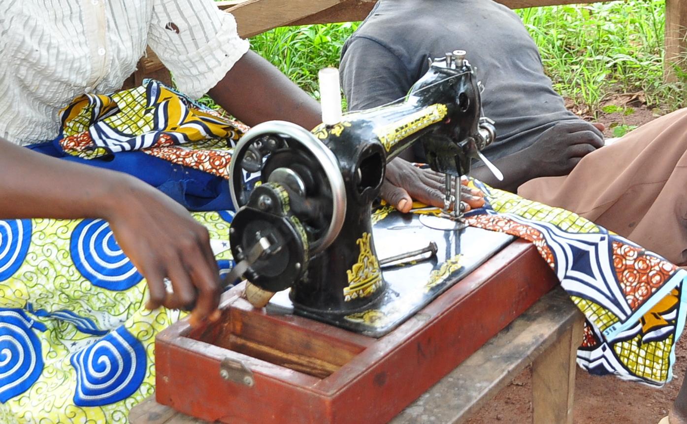Sewing in democratic republic of congo