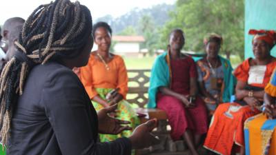 Women peacebuilders in Liberia