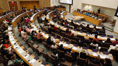 Launch of Global Alliance at the United Nations, New York