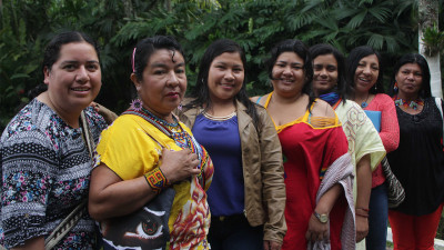 Colombian indigenous women speak up for peace
