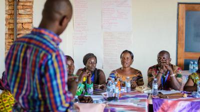 Peacebuilding workshop in Uganda