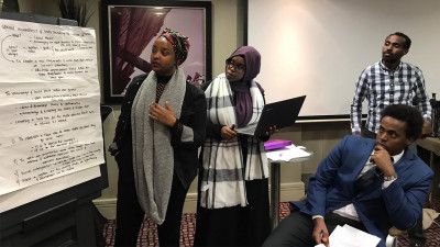 Diaspora youth take part in ongoing Ethiopian peace process