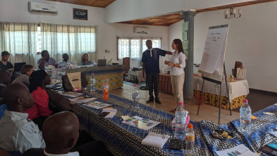 Smart Peace workshop in the Central African Republic
