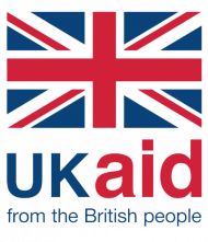 UK Aid logo in colour