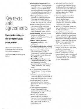 Accord Northern Uganda: Key texts and agreements (2002)