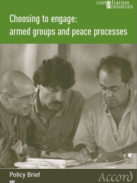 Accord policy brief: Armed groups cover image