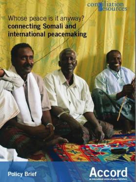 Accord policy brief: Somalia cover image