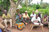 Community meeting in Dungu, DRC