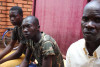 Community event in 7e arrondissement, Bangui, CAR, discussing the security situation and extension of local peace committees into other quarters of the arrondissement. All community leaders including traditional leaders were in attendance. July 2015