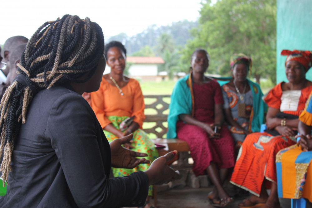 Women peacebuilders in Liberia