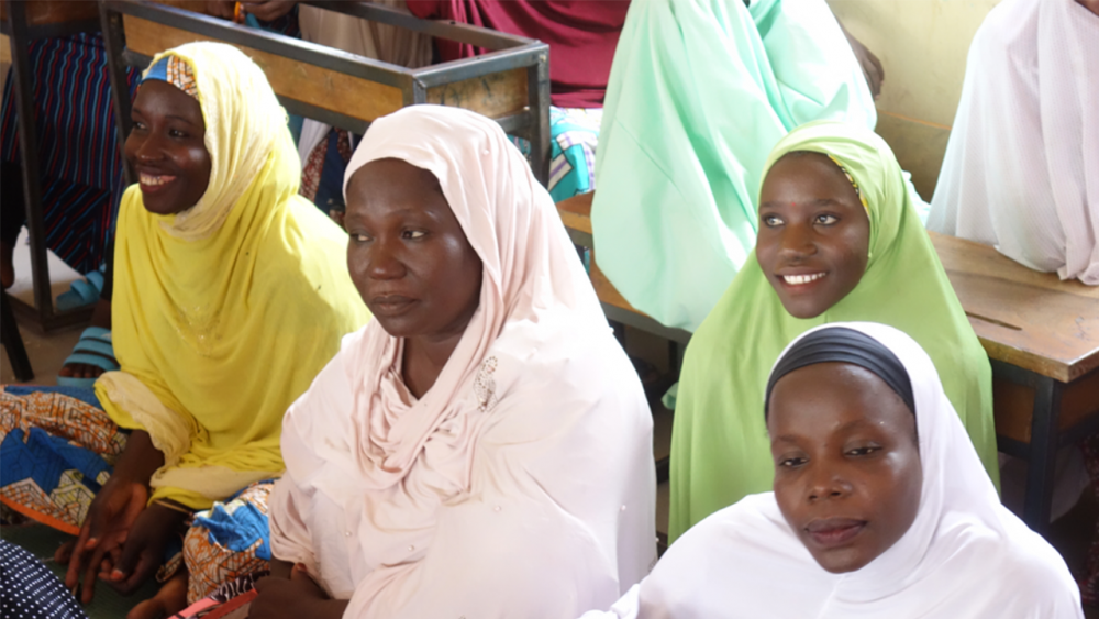 Women-only storytelling space in Nigeria
