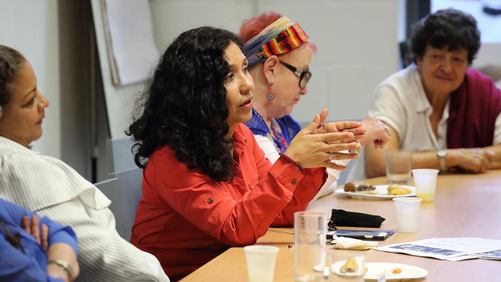 Colombian Diaspora Women meeting