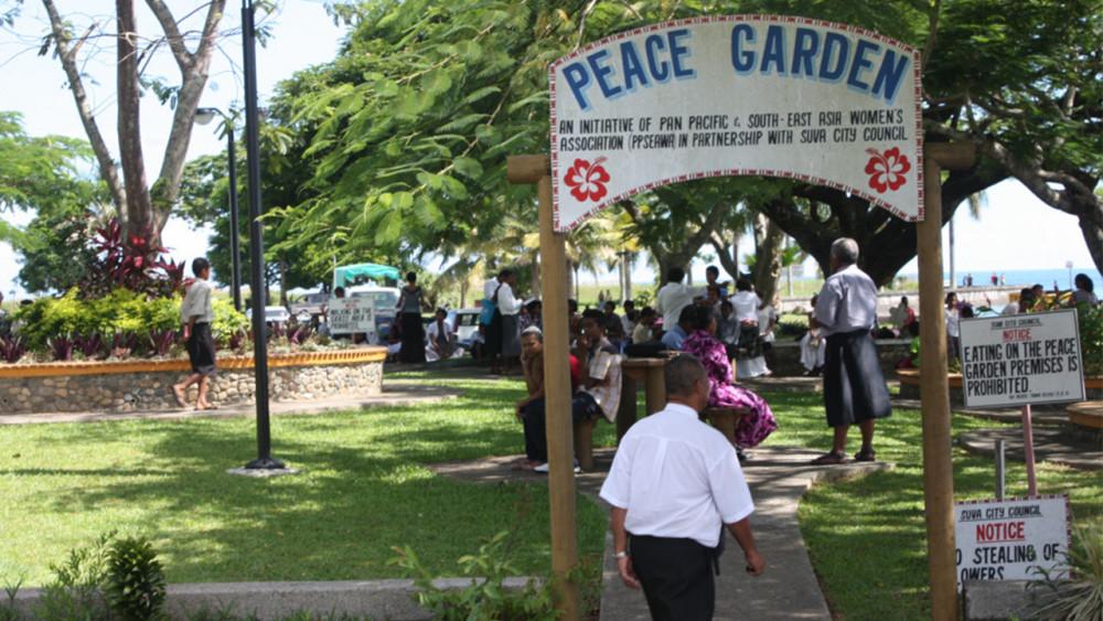 Peace Garden in Suva, Fiji