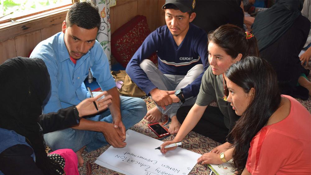 Youth training in Srinagar