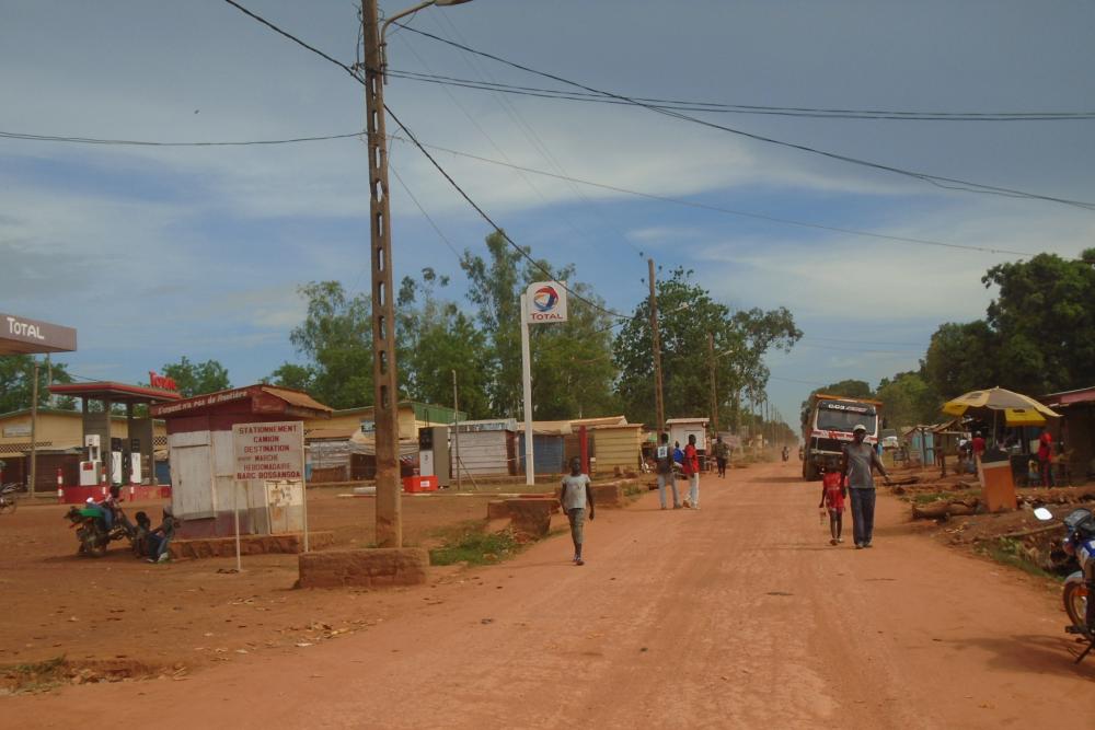 Street in Bossangoa