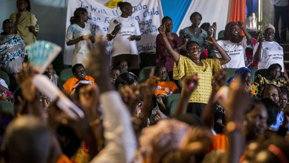 women peacebuilders in South Sudan