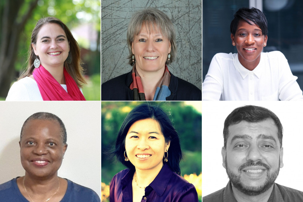Images of each of Conciliation Resources' new trustees