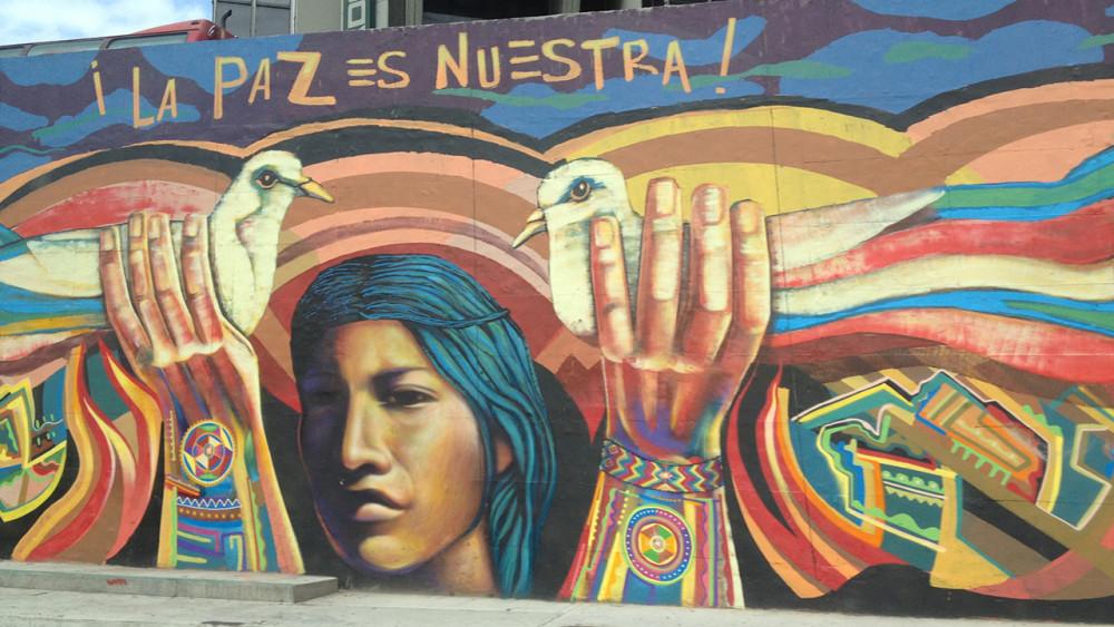 Colombian peace art