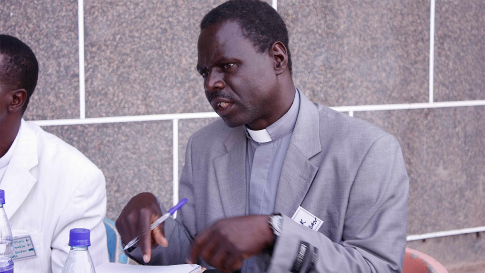 Father Mark Kumbonyai