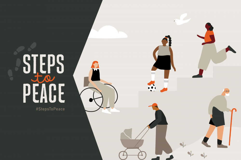 Steps to Peace illustration