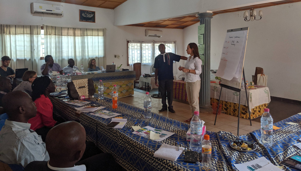 Smart Peace workshop in Central African Republic