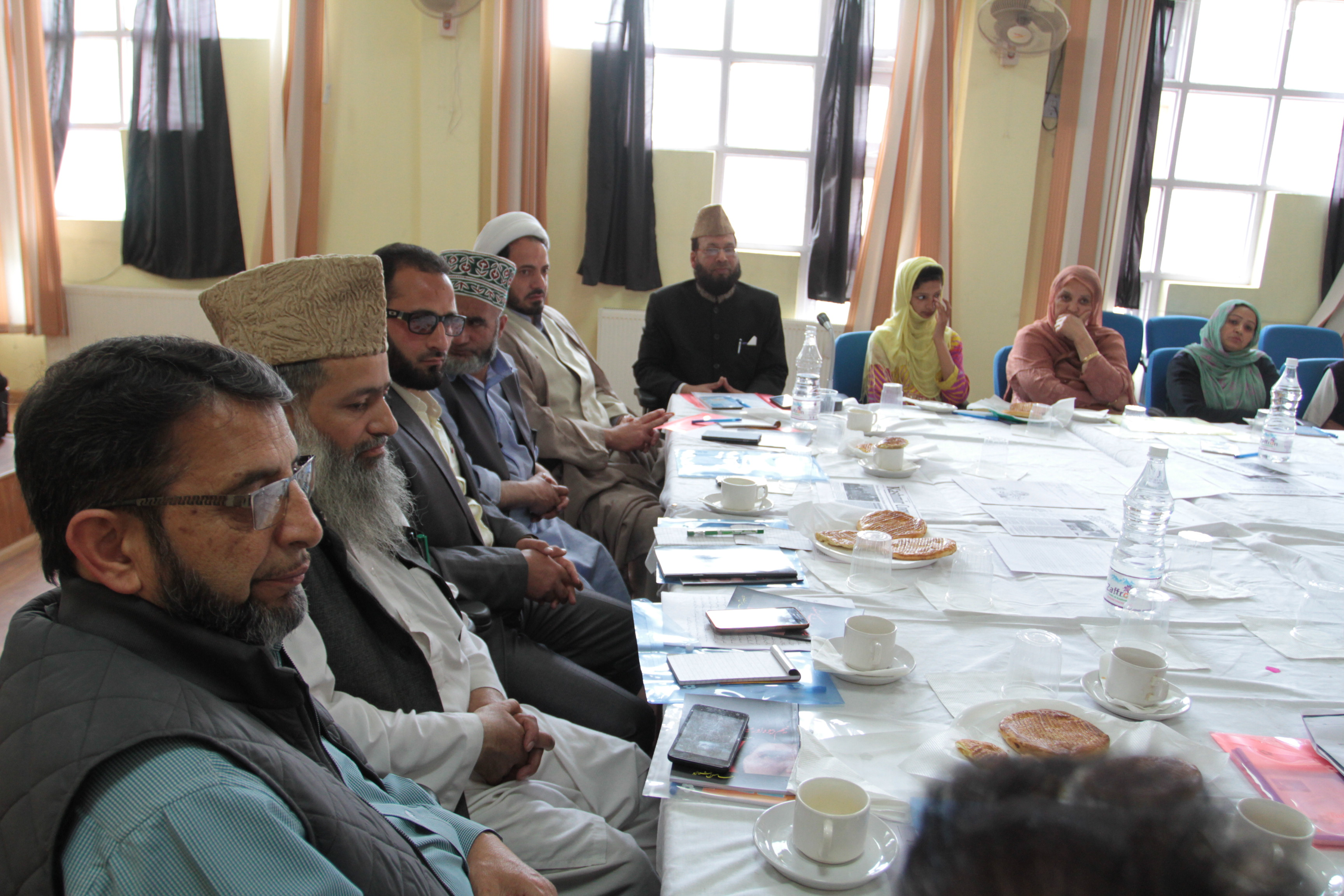 Ulema meeting on half widows property rights Jammu and Kashmir